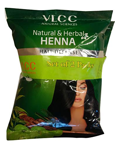 VLCC Natural & Herbal Henna - Hair Defense, 100g Combo Pack