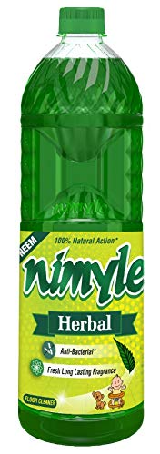 Nimyle Herbal Anti-Insect Floor Cleaner - Neem Based, 1L Bottle