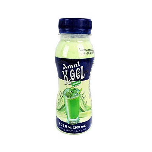 Amul Kool Flavoured Milk - Elaichi, Bottle, 180ml