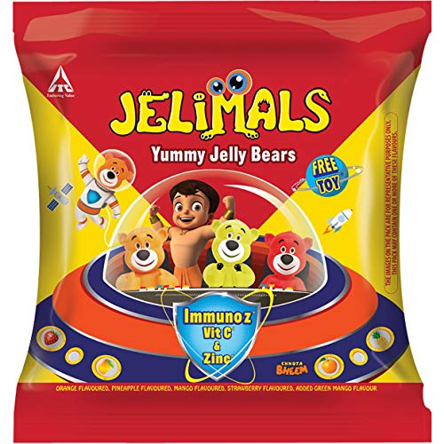 Candyman Jelimals Jelly Bears, 30g Pouch