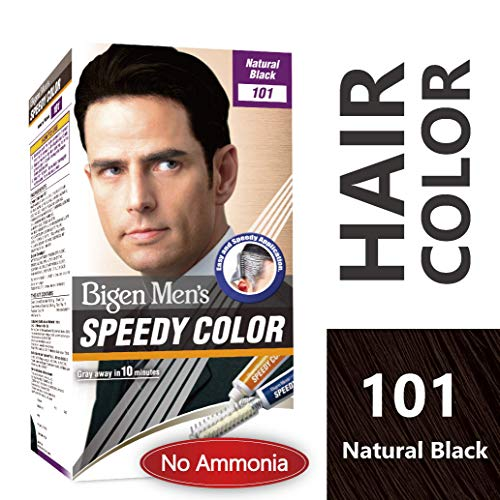 Bigen Men's Speedy Color, Natural Black 101, 80g