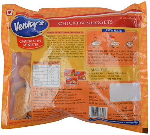 Venky's Chicken Nuggets Pouch, 500 g