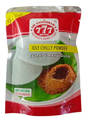 777 Ready Mix - Idly Chilli Powder, 100g Pack
