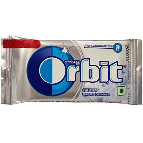 Orbit Chewing Gum - Sweetmint, 4.4g Pack