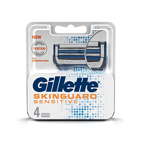 Gillette Skinguard Manual Shaving Razor Blades- pack of 4 cartridges