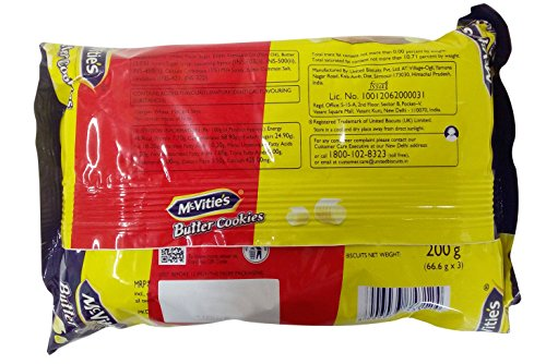 McVities Cookies - Butter, 200g Pack