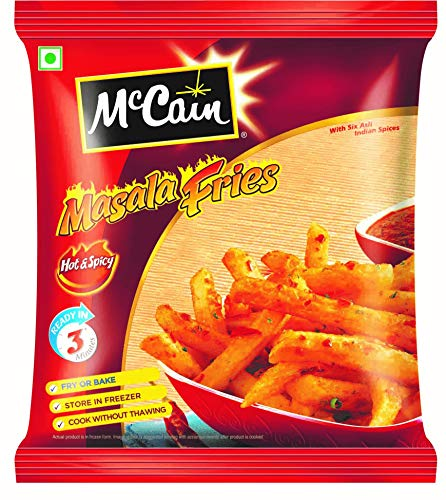 McCain Masala Fries, 375g