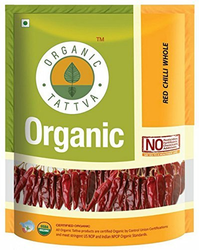 Organic Tattva Red Chilly Powder, 200g