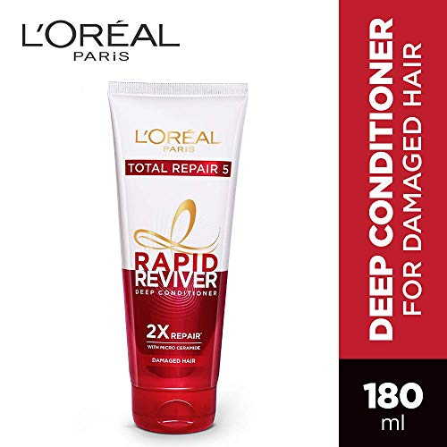 L'Oreal Paris Rapid Reviver Total Repair 5 Deep Conditioner, 180ml