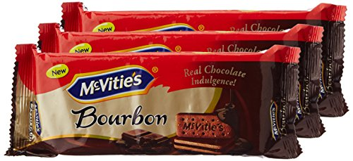 McVitie's Bourbon Cream Biscuits - Chocolate, 100g (Buy 2 get 1)