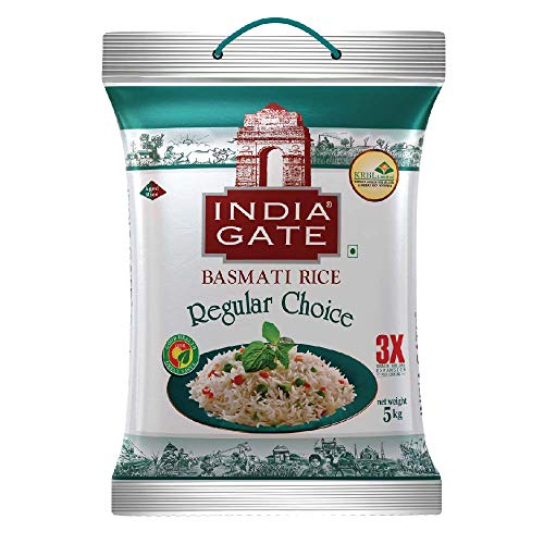 India Gate Basmati Rice Regular Choice, 5kg