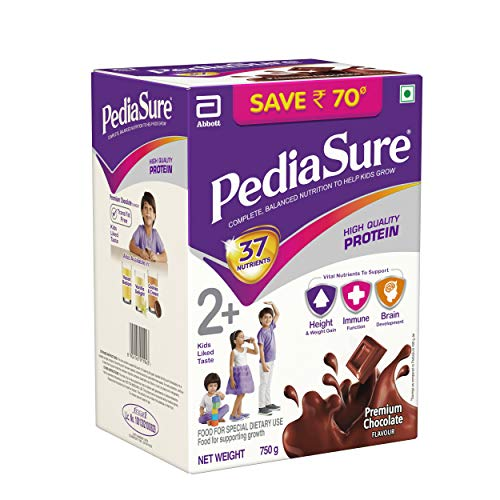 PediaSure Health and Nutrition Drink Powder for Kids Growth - 750g (Chocolate)