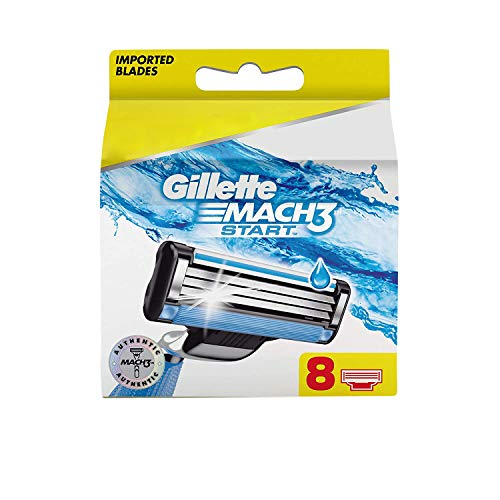 Gillette Mach3 Start Men's Razor Blades - 8 Pieces