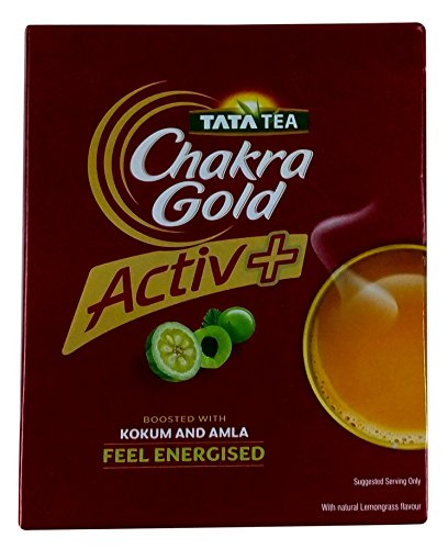 Tata Chakra Gold Tea - Activ Plus, 250g Carton