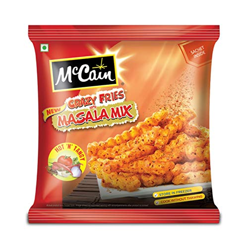 McCain Crazy Fries Masala Mix, Hot n Tangy, 400g