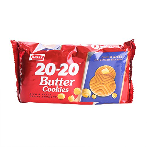 Parle Cookies - 20 20 Butter, 195g Pack