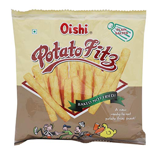 Oishi Potato Fitz - Plain Salted, 65g