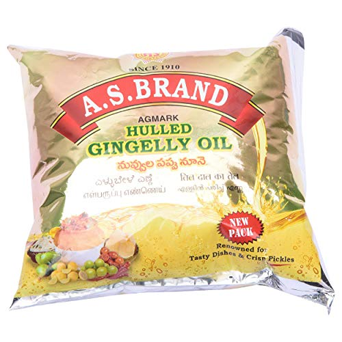 A.S.Brand Cooking Oil - Gingelly, 500ml