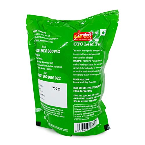 More Choice CTC Leaf Tea - Pure, 250g