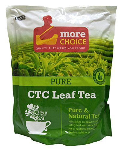 More Choice CTC Leaf Tea - Pure, 1kg Pack
