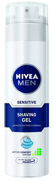 Nivea for Men Sensitive Shaving Gel - 200 ml