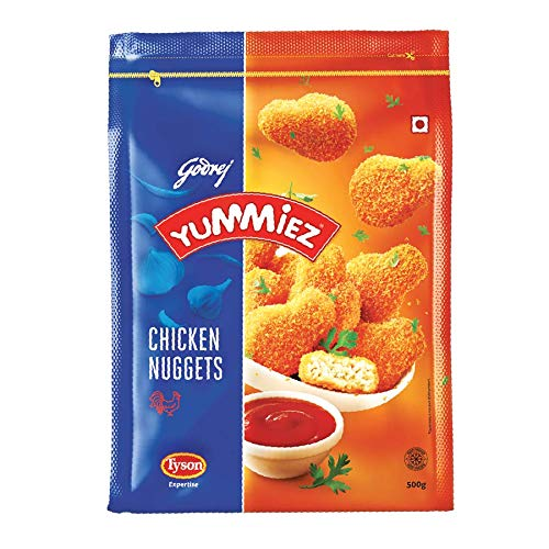 Yummiez Chicken Nuggets Pouch, 500 g