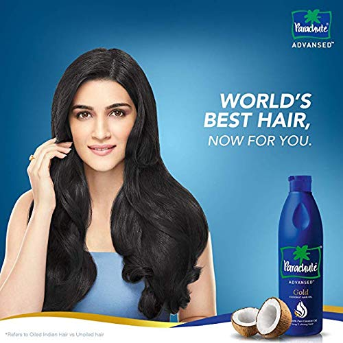 Parachute Advansed Gold Coconut Hair Oil, 280 ml