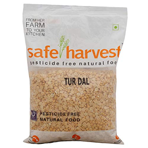 Safe Harvest Tur Dal, 500g