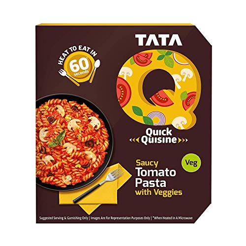 TATA Q Saucy Tomato Pasta with Veggies, 290 g