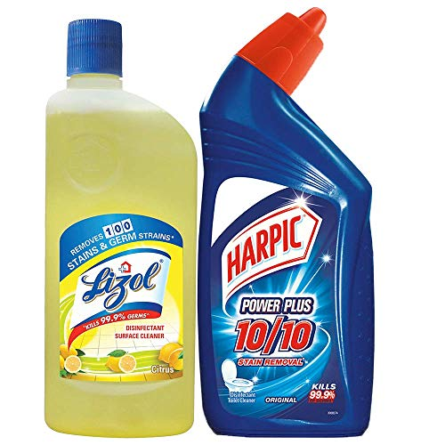 Lizol - 500 ml with Harpic Original - 500 ml