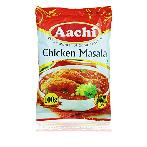 Aachi Chicken Masala Powder, 100g Free Ginger Garlic Paste 50g