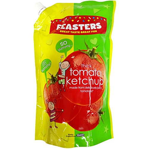 Feasters Ketchup - Tomato, 1kg Pouch
