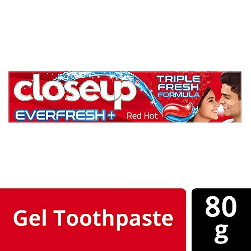 Closeup Everfresh+ Anti-Germ Gel Toothpaste Red Hot 80 g