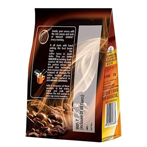 NESCAFÉ Sunrise Rich Aroma, Instant Coffee-Chicory Mix, 200g Stabilo | Made With Slow Roasted Coffee Beans
