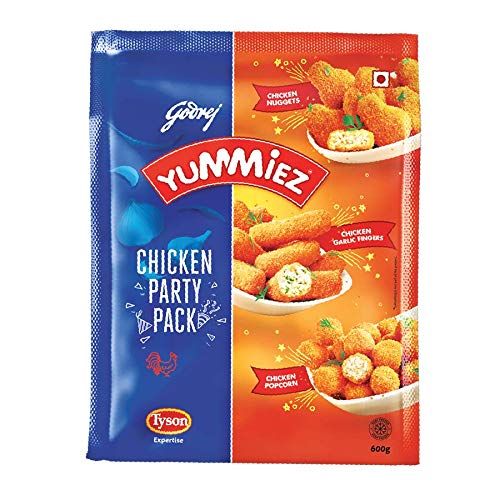 Yummiez Chicken Party Pack Pouch, 600 g