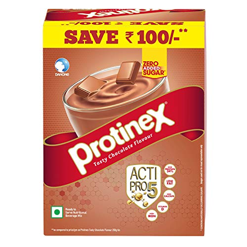 Protinex Health And Nutritional Drink Mix For Adults with High protein & 10 Immuno Nutrients, Tasty Chocolate, 750g