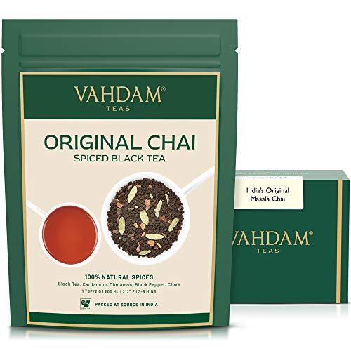 VAHDAM- Chai Masala Value Pack -100 GMS | 5 Spices Masala Tea | Natural Taste | Daily Use Masala Chai