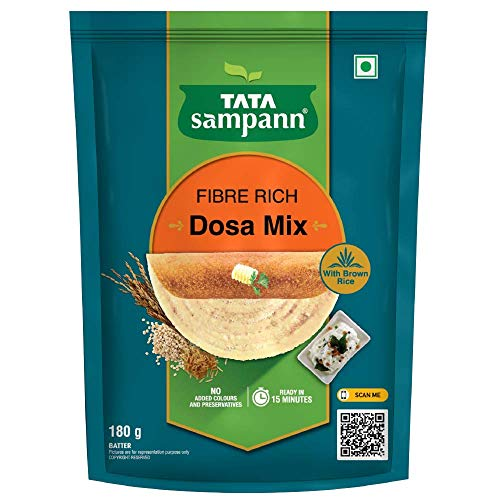 Tata sampann Fibre Rich Dosa Mix, 180 g