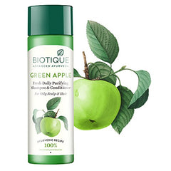 Biotique Bio Green Apple Fresh Daily Purifying Shampoo  190ml