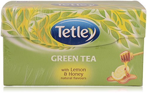 Tetley Green Tea - Lemon and Honey, 30 Bags Carton