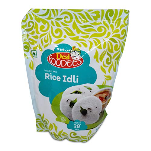Desi Foodees Rice Idli Instant Mix, 500g