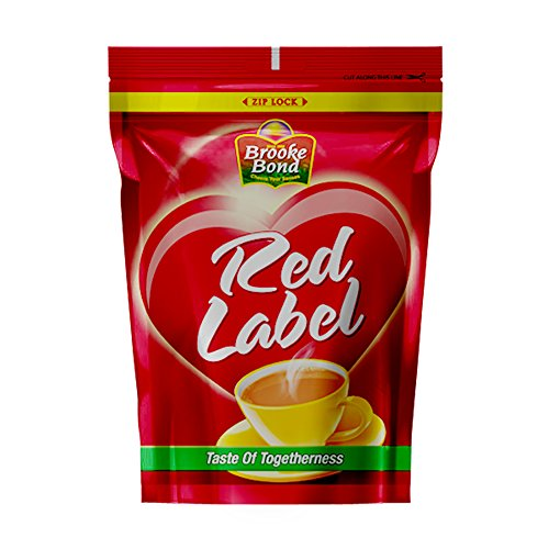 Red Label Tea, Blend Of Tea Rich In Healthy Flavonoids, Makes Tasty And Healthy Chai, 1 kg (Premium Blend)
