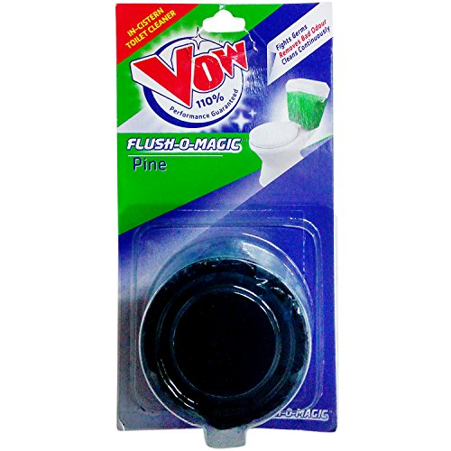 Vow Flush-O-Magic In-Cistern Toilet Cleaner - Pine, 50g Pack