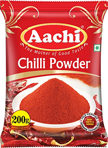 Aachi Pure Chilly Powder, 200g Pouch