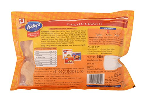Venky's Chicken Nuggets Pouch, 300 g