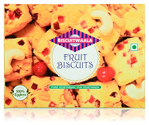 Biscuitwaala Fruit Biscuits, 250 Grams