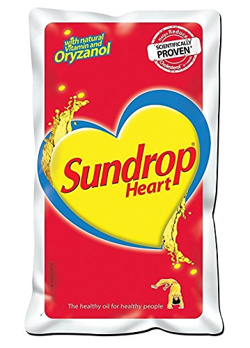 Sundrop Heart with Natural Vitamin and Oryzanol, 1L