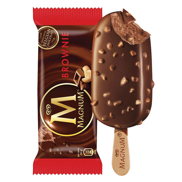 Kwality Walls Magnum Brownie Ice Cream 80ml