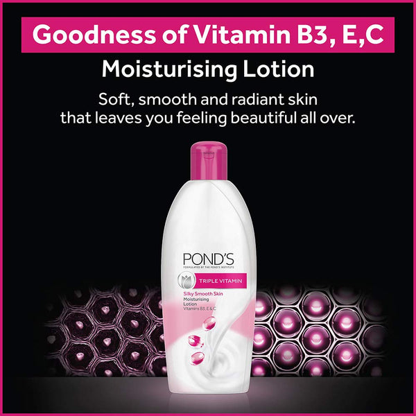 Pond's Triple Vitamin Moisturising Body Lotion, 100ml
