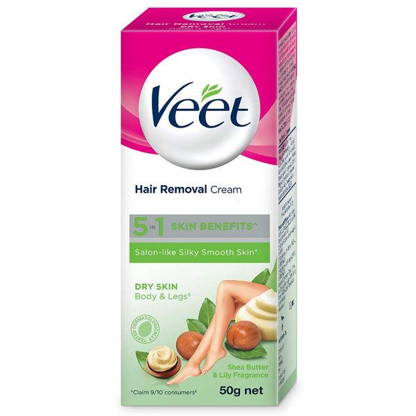 Veet Hair Removal Cream - 50 g (Dry Skin)